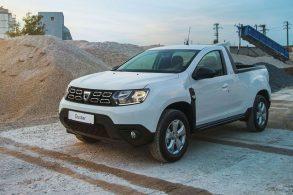 Base para a nova Oroch? Duster ganha versão picape na Romênia