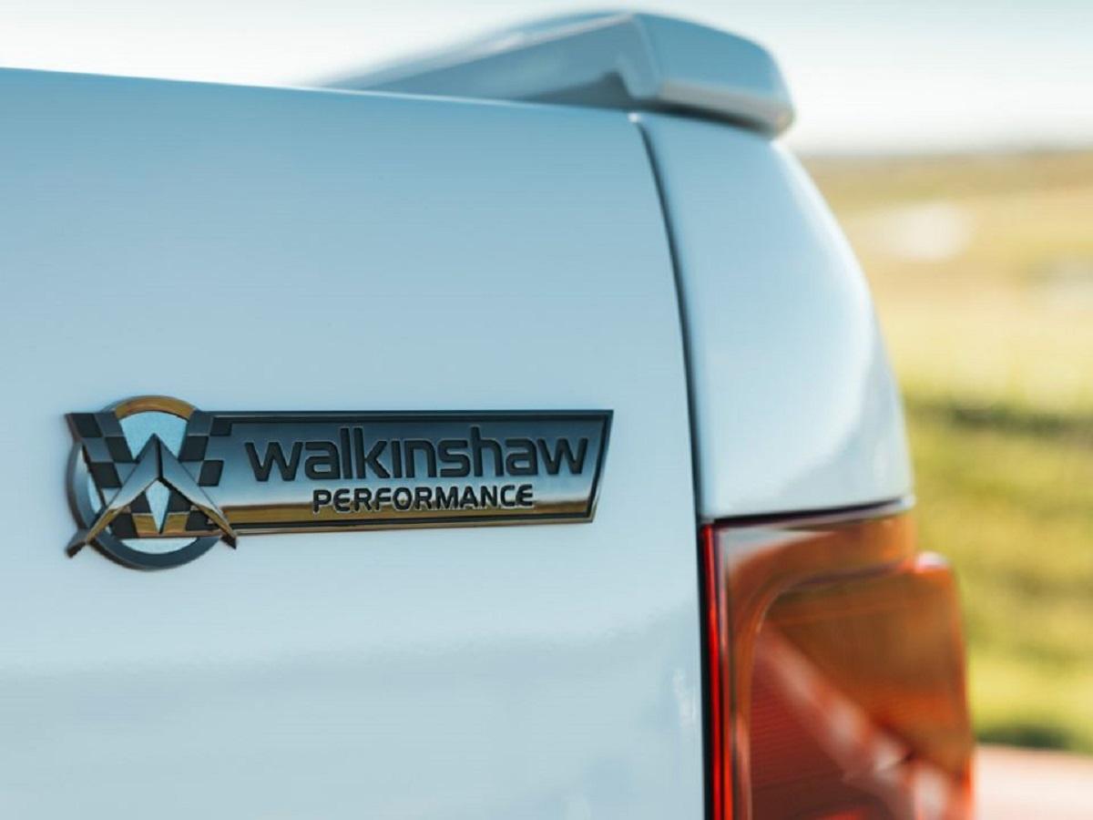 logo da edicao especial da amarok 2021 produzida pela walkinshaw performance 1