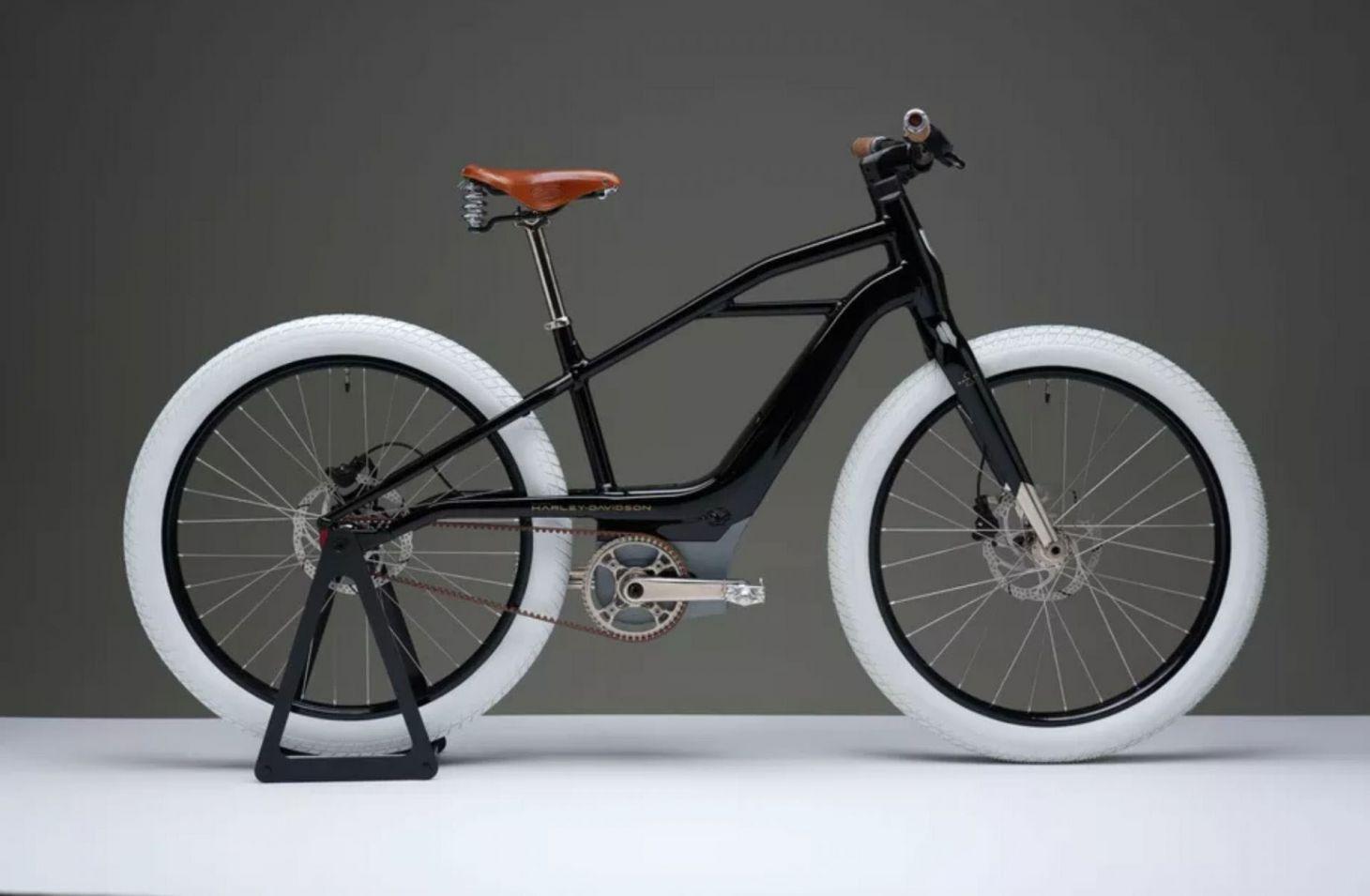 bicicleta eletrica harley davidson