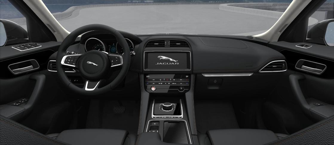painel interior jaguar f pace