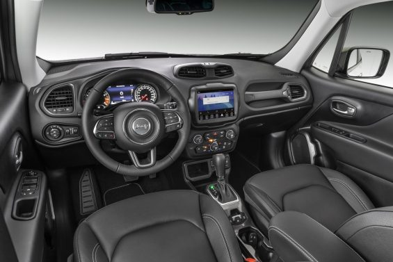 jeep renegade 2021 limited painel