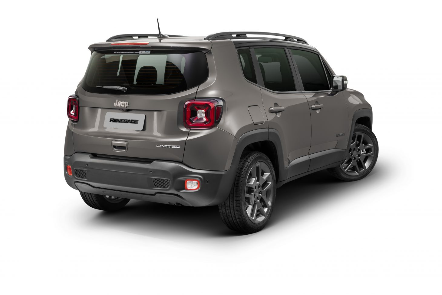 jeep renegade 2021 limited traseira