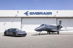 Embraer e Porsche lançam combo 'jatinho e 911' por R$ 60 milhões