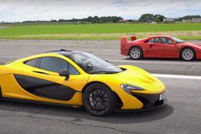 Ferrari F40 e McLaren P1 se enfrentam em arrancada; veja vídeo