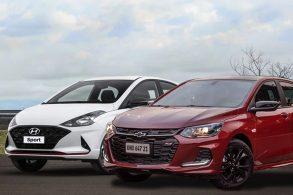 Chevrolet Onix RS ou Hyundai HB20 Sport? Comparamos os dois hatches