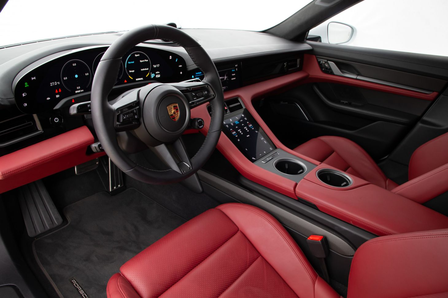 porsche taycan turbo s interior