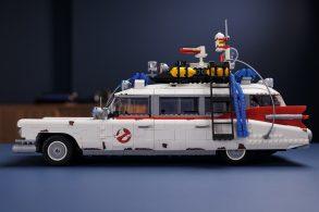 Carro de 'Os Caça-Fantasmas' vira miniatura em Lego