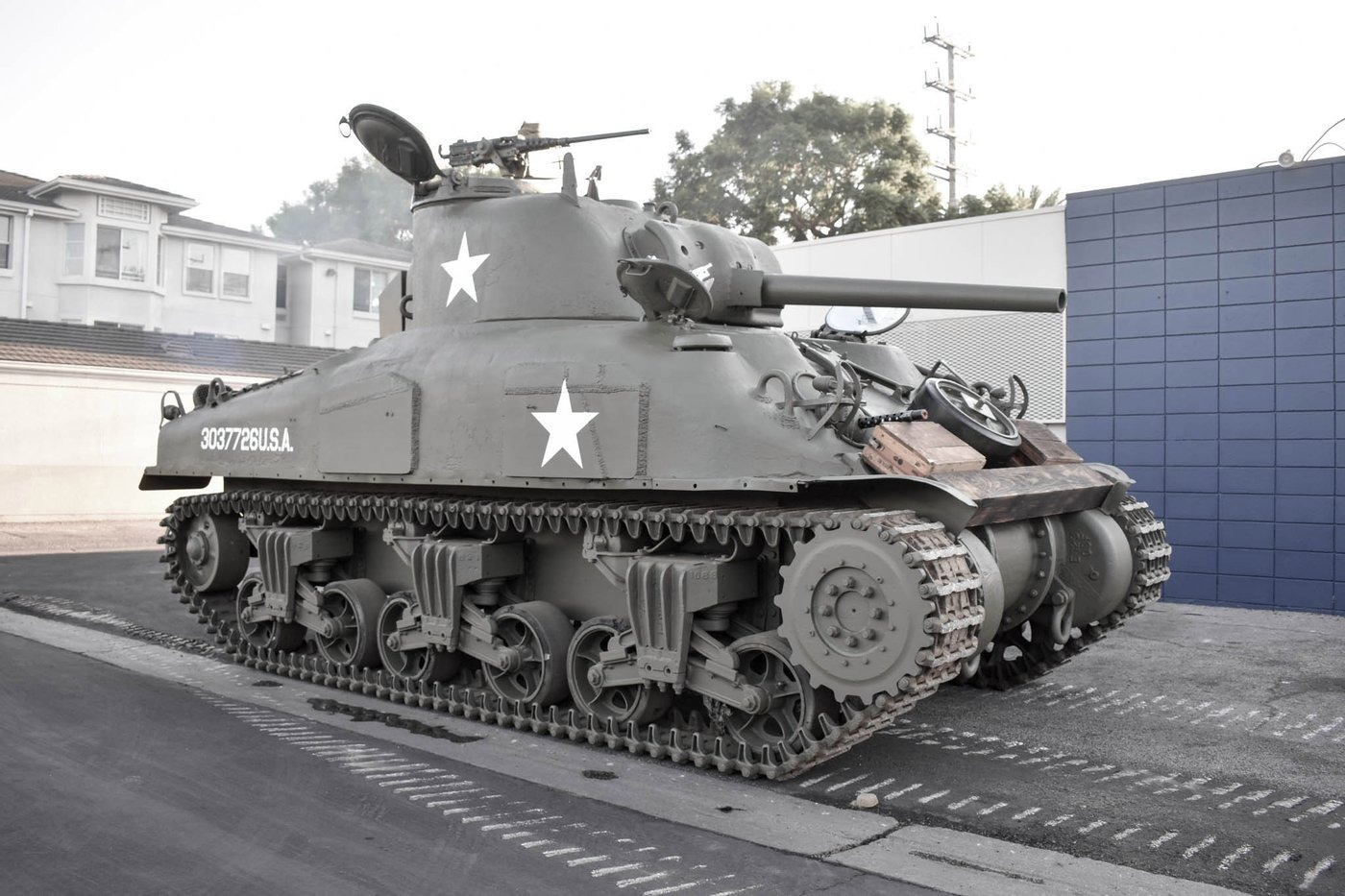 tanque sherman m4a1 1