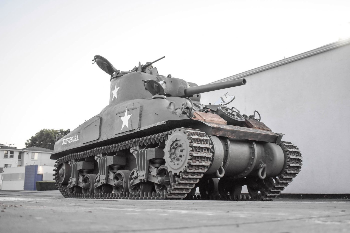 tanque sherman m4a1 2