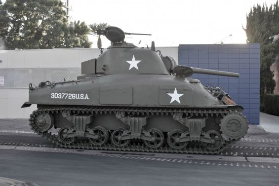 tanque sherman m4a1 5