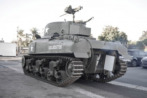 tanque sherman m4a1 6