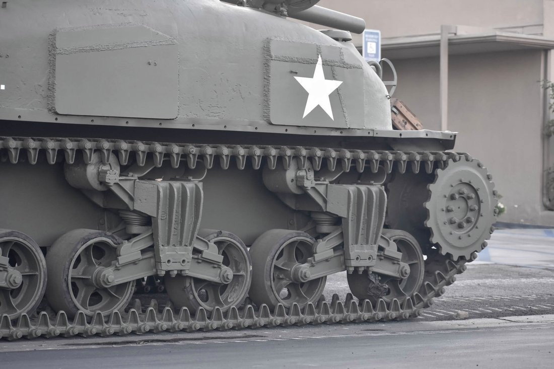 tanque sherman m4a1 13
