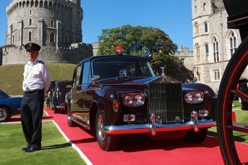 Rolls-Royce Phantom IV State Landaulet (1955) carro Familia Real Rainha Elizabeth II
