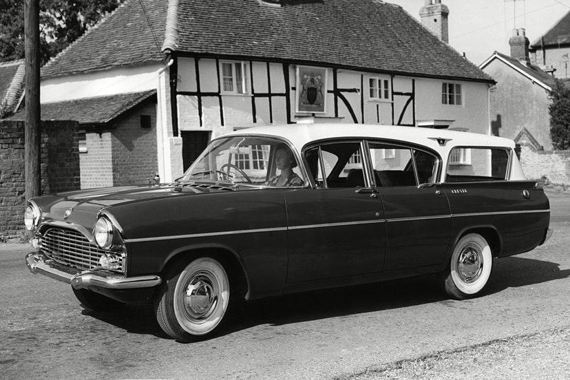 vauxhall cresta pa friary estate 1961 carro rainha elizabeth ii