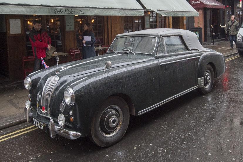 lagonda drophead coupe de 3 litros 1954 carros colecao philip duque edimburgo