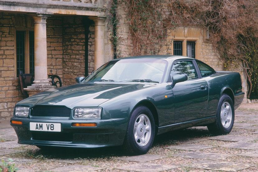aston martin virage volante 1994 colecao carros principe charles