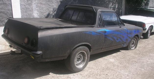 chevrolet caravan 1987 picape modificacao lata velha