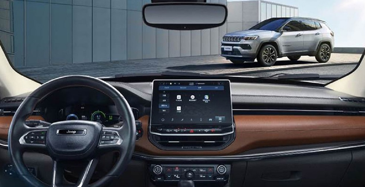 painel do jeep compass limited 2022 chines