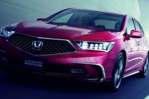 Honda Legend, nível 3 de autonomia, será produzido em 2021
