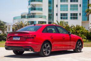 No Brasil o novo A4, o Audi mais vendido no mundo