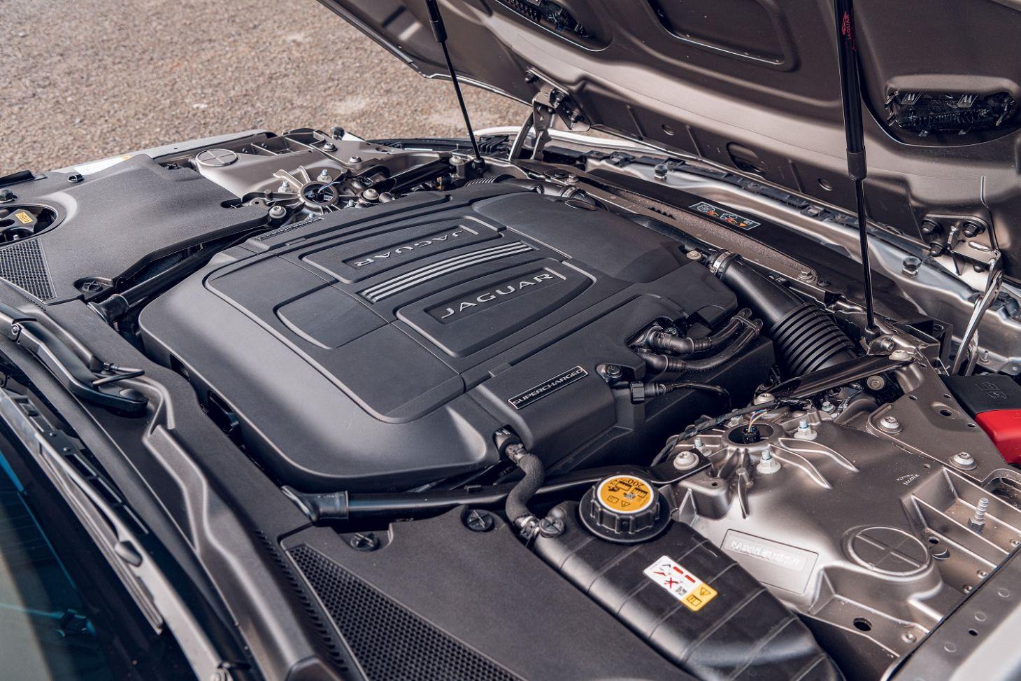 jaguar f type motor