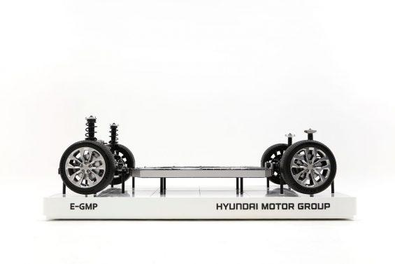 plataforma global para eletricos da hyundai chamada e gmp