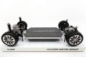 Plataforma global para elétricos é apresentada pela Hyundai
