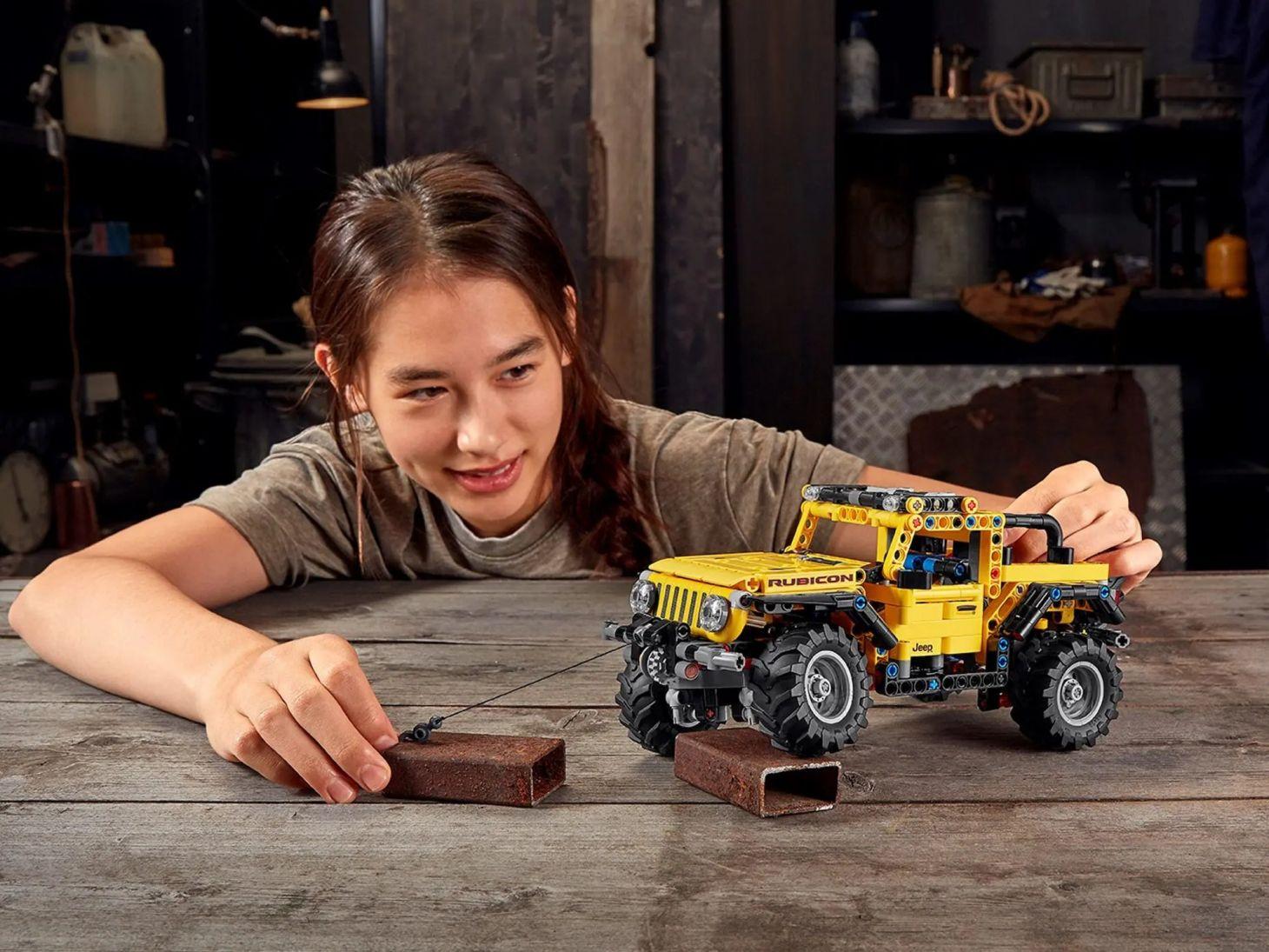 jeep wrangler lego technic 1