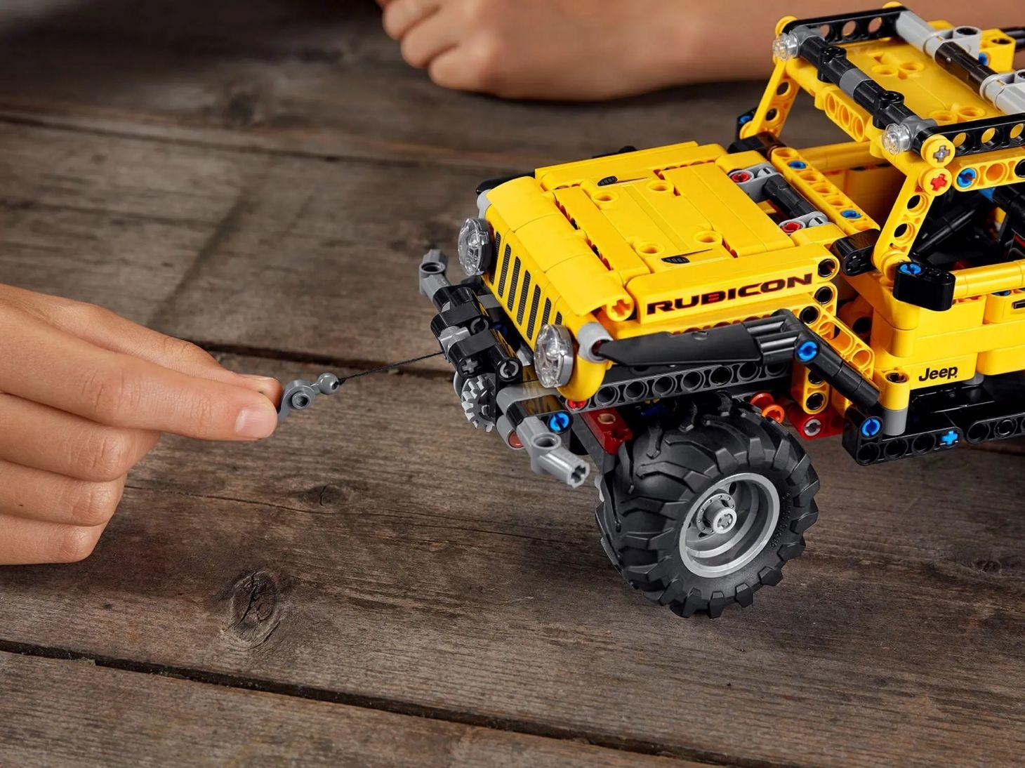 jeep wrangler lego technic 3