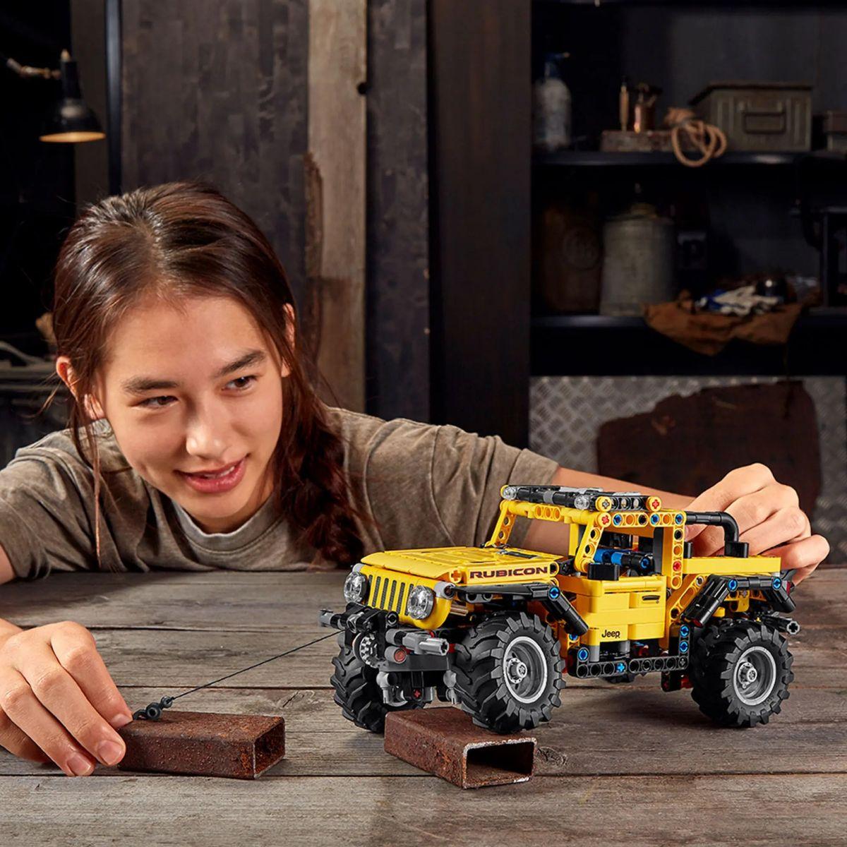 jeep wrangler lego technic 4