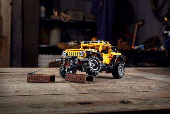 jeep wrangler lego technic 5