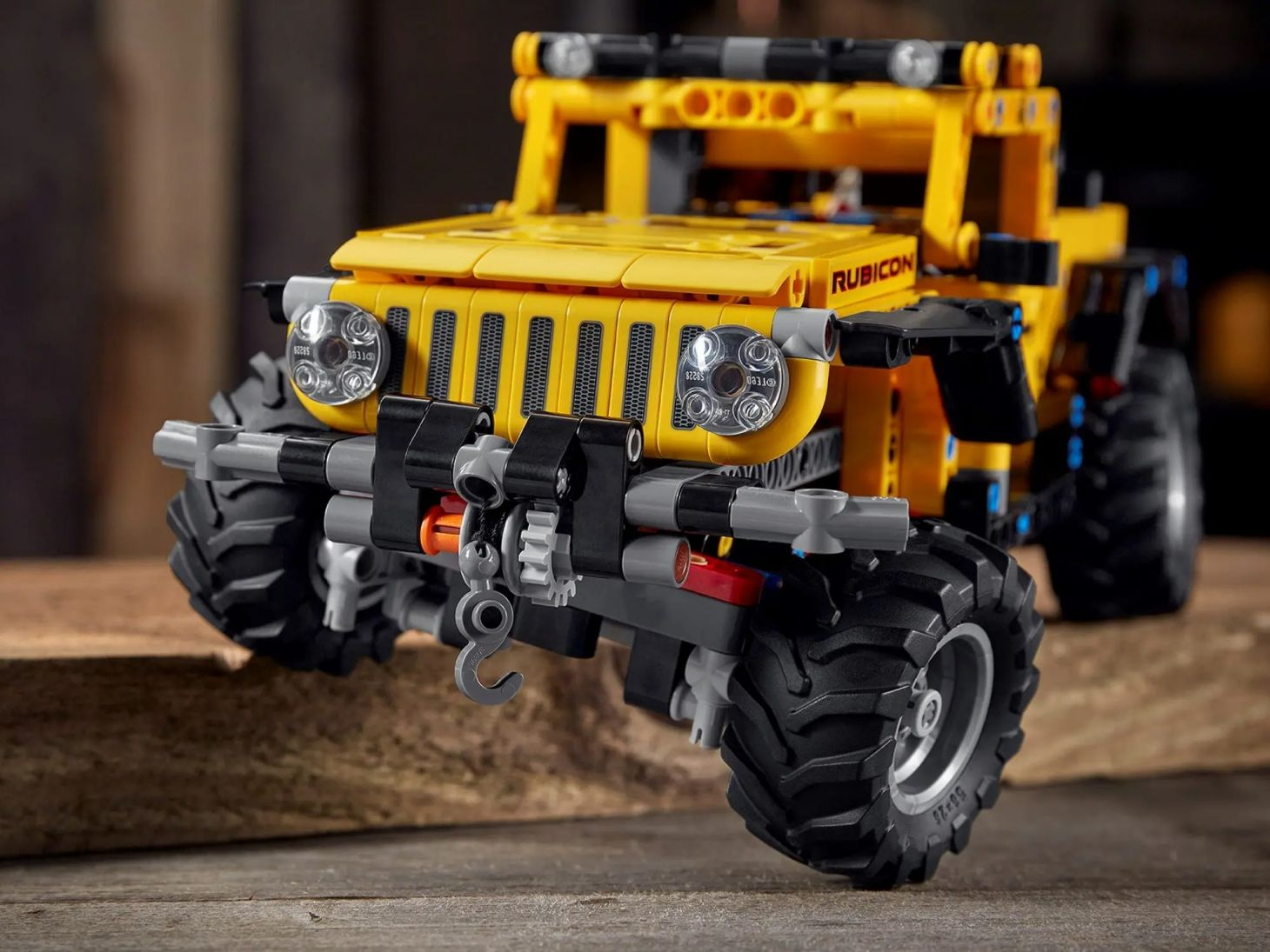 jeep wrangler lego technic 6