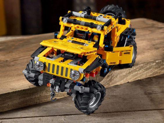 jeep wrangler lego technic 7