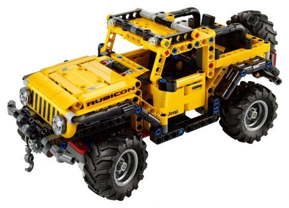 jeep wrangler lego technic 8
