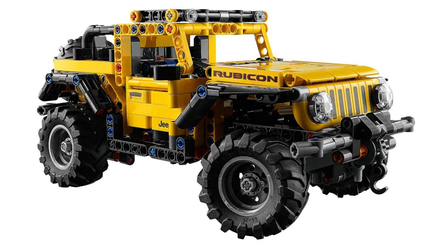 jeep wrangler lego technic 9