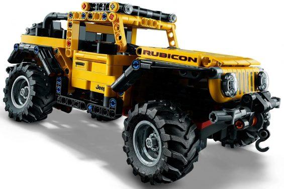 jeep wrangler lego technic 11