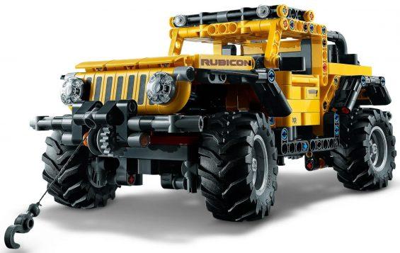 jeep wrangler lego technic 13