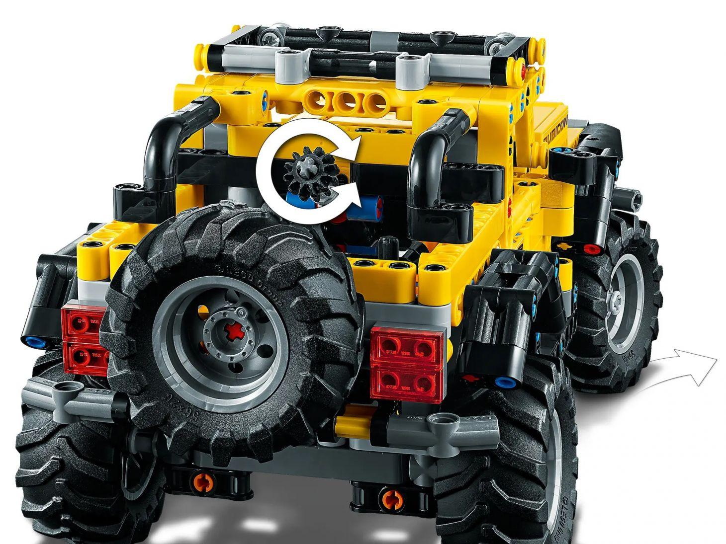 jeep wrangler lego technic 14