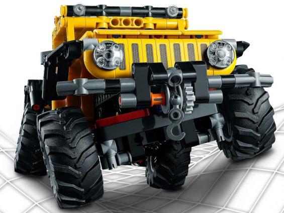 jeep wrangler lego technic 15