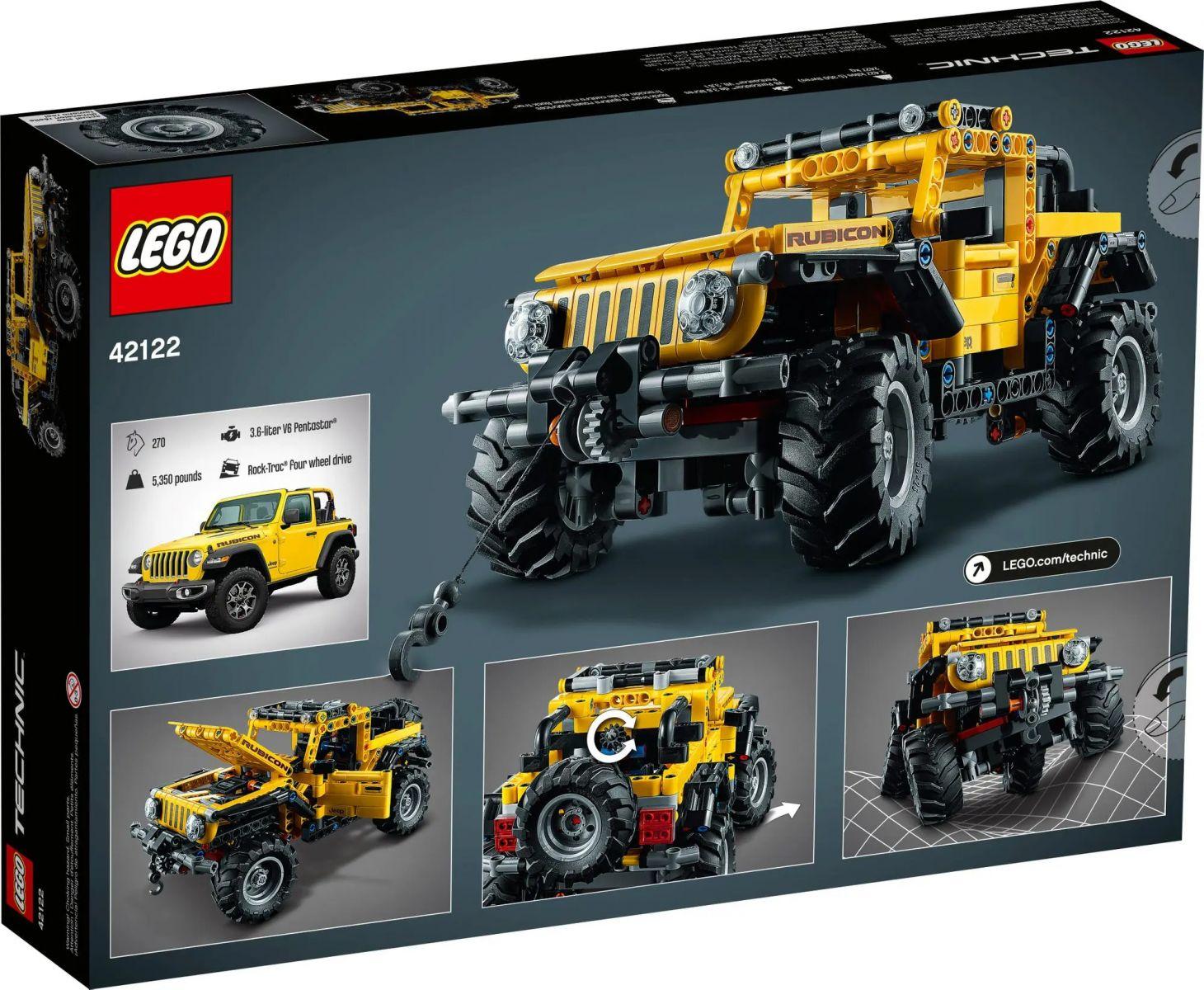 jeep wrangler lego technic 16