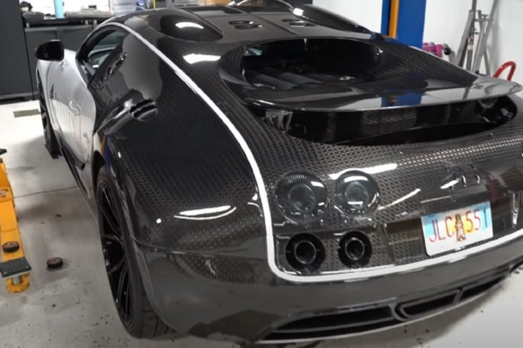 A manutenção de um Bugatti Veyron é uma das mais caras do mundo