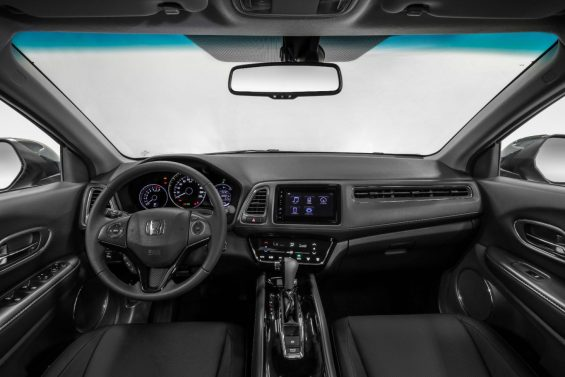 Interior do Honda HR-V 2021