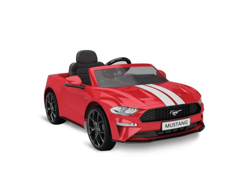 carro para crianca modelo ford mustang vermelho