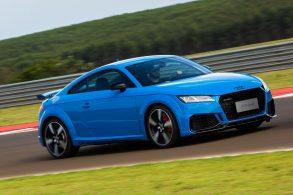 Audi RS4 Avant, RS5 e TT RS: esportivos dão as caras na pista