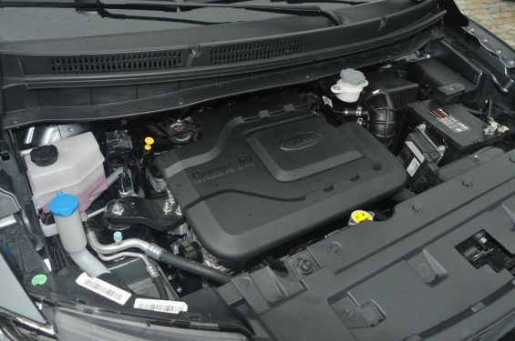 motor 1.6 movido a gasolina do jac t50