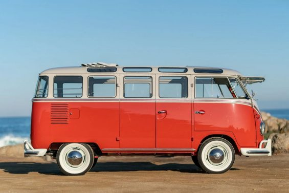 vw kombi 1959 lateral