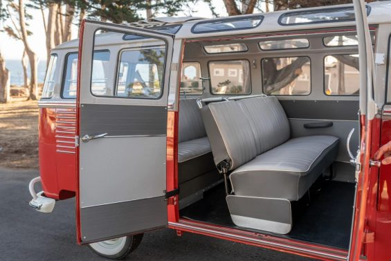 vw kombi 1959 porta lateral