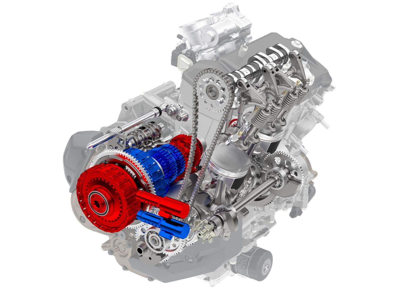 africa twin dct motor de dois cilindros com dupla embreagem destacada