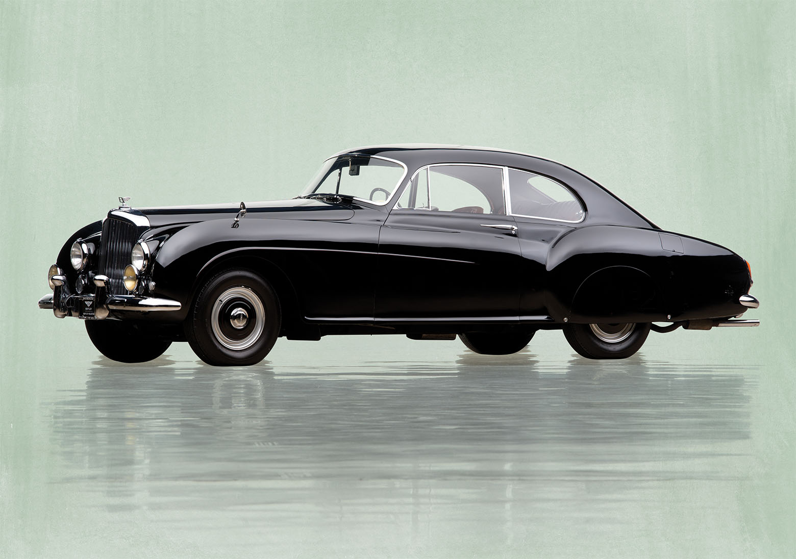 bentley r type continental preto lateral