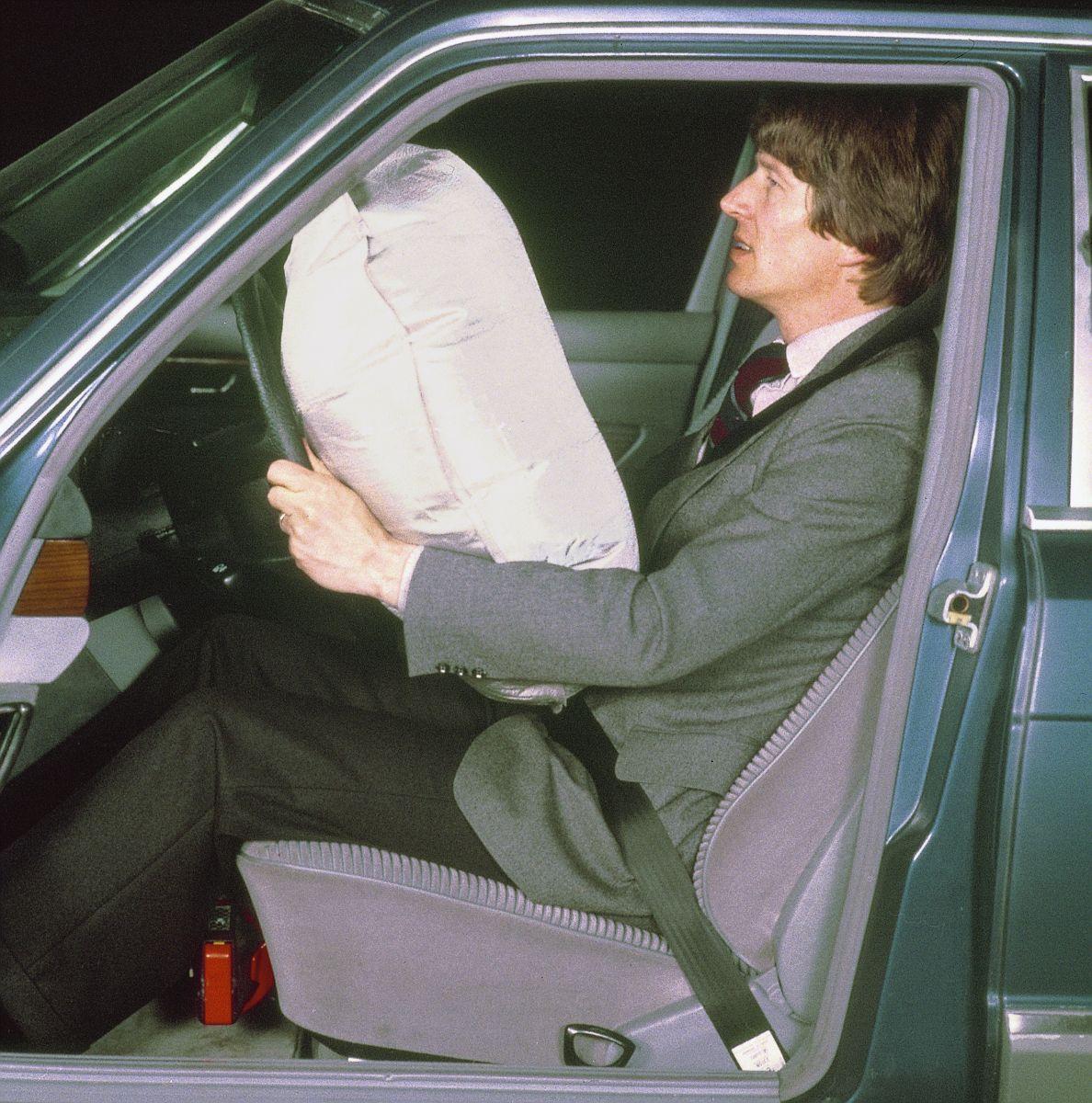 mercedes benz classe s 1980 airbag